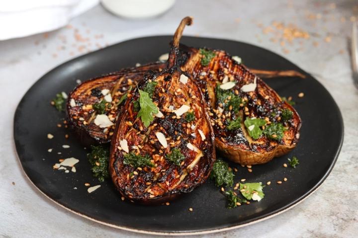 Miso Eggplants