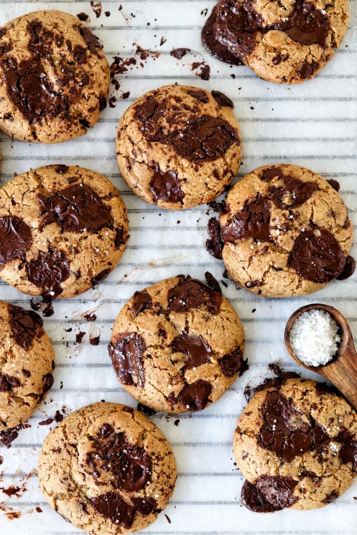 Spelt Chocolate ChunkCookies